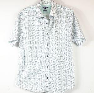 NO Code Casual  Men's Short Sleeve Shirt